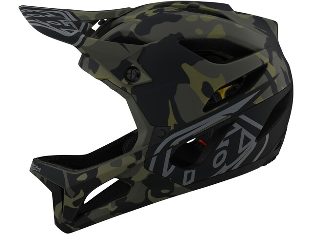 Troy Lee Designs Stage MIPS Casco, Oliva